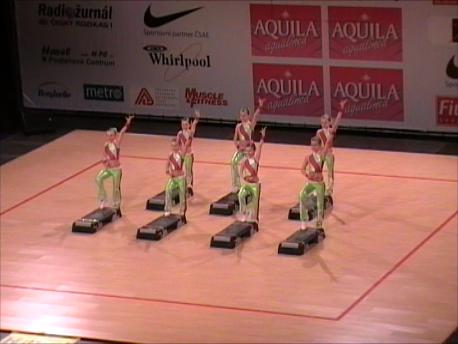 2008 Sportovní Aerobik Step děti
