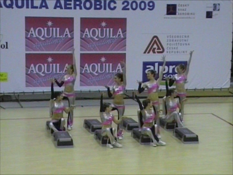 2009 sportovní aerobik Praha